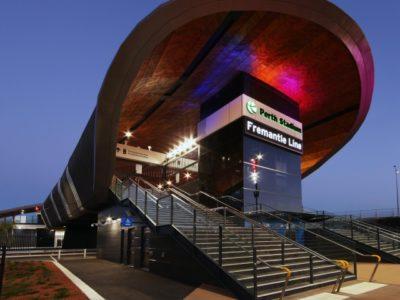 Optus Stadium Train Station